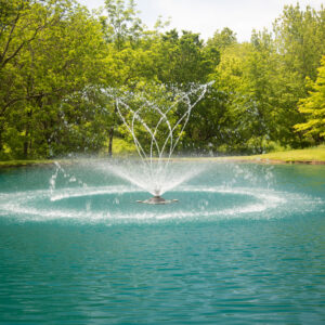 Fusion Series: 1/2HP-2HP Aerating Fountains