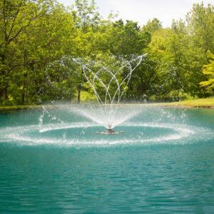 Fusion Series: 1/2HP-2HP Aerating Fountains