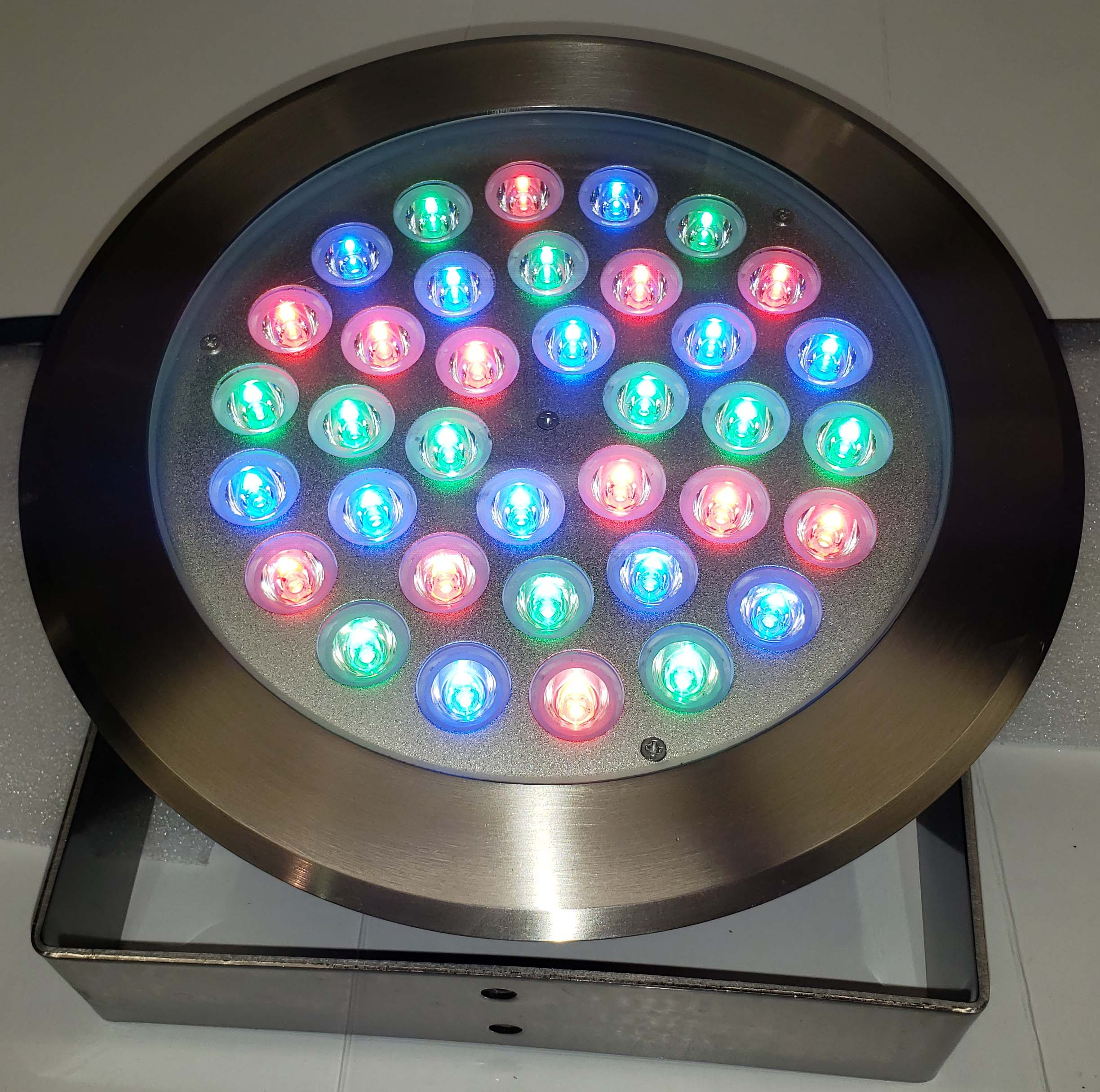 36W Remote-Controlled RGB LED