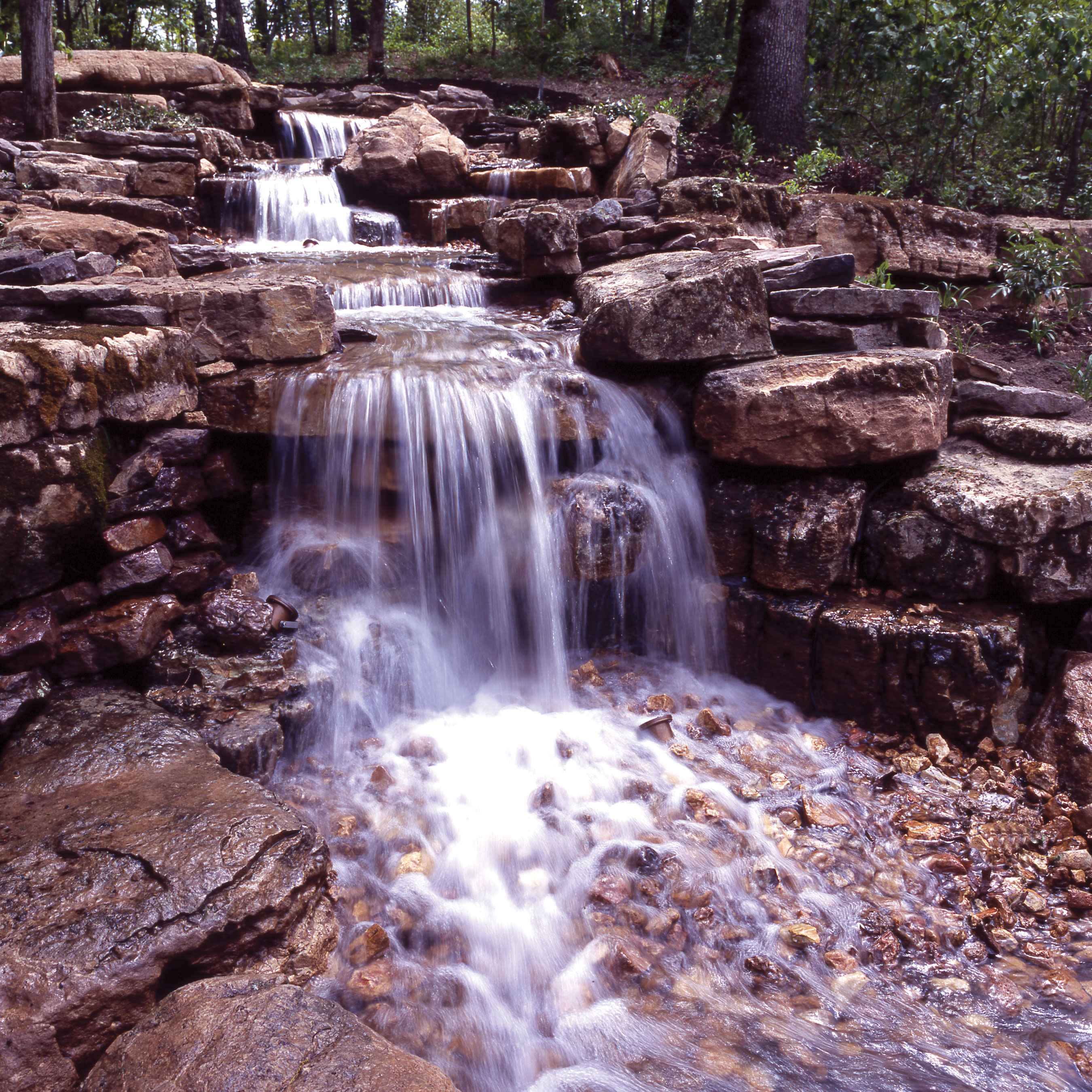 Angel Waterfall Pump System