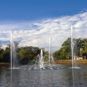 Select Series Fountains - Sky Geyser