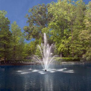 Endur Series Fountain - Fleur de Lis