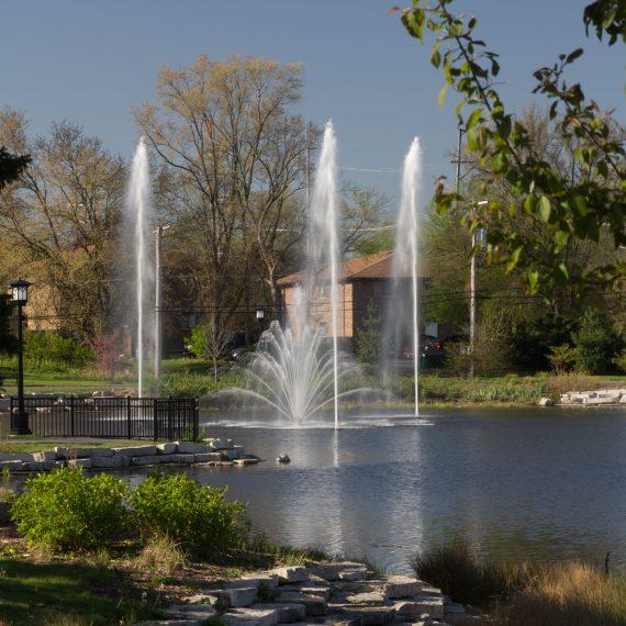 Endur Series Fountain - Sky Geyser