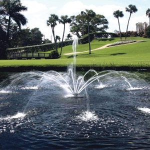 Evolution™ Series: 1/2 HP Floating Fountains